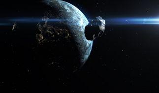 2021 kommen der Erde wieder jede Menge Asteroiden gefährlich nah. (Foto)