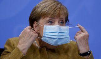 Bundeskanzlerin Angela Merkel wird die Ministerpräsidenten der Länder am Sonntag (13.12.2020) zu einem weiteren Corona-Gipfel zusammentrommeln, um das weitere Vorgehen im Kampf gegen die Pandemie zu besprechen. (Foto)