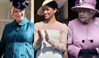 Zara Tindall, Meghan Markle und Queen Elizabeth II. fanden sich allesamt in den Royals-News der Woche wieder. (Foto)