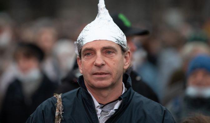 """""""Querdenken""""-Proteste heute in Dresden"""