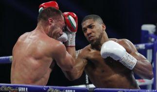 Anthony Joshua gewinnt gegen Kubrat Pulev dank seiner perfekten Aufwärtshaken (Foto)