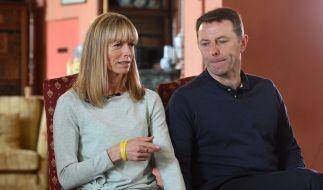 """Die Eltern des verschwundenen britischen Mädchen Madeleine """"Maddie"""" McCann, Kate und Gerry McCann. (Foto)"""