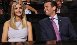Ivanka und ihr Bruder Donald Trump Jr. (Foto)