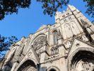 Vor der St. John the Divine Kathedrale in New York City eröffnete ein Mann das Feuer. (Foto)