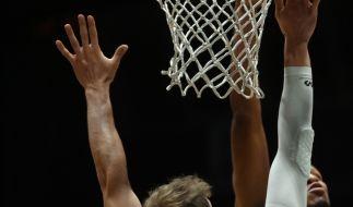 Ein US-Basketball-Star ist auf dem Spielfeld kollabiert. (Foto)