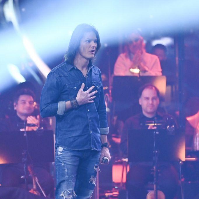 Rocker mit Herz! Für SIE singt sich der TVOG-Star die Seele aus dem Leib (Foto)