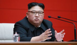 Kim Jong-un sorgte auch 2020 für wieder für reichlich Schlagzeilen. (Foto)