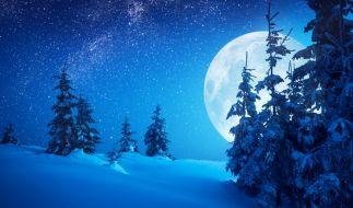 Im Dezember dürfen sich Astro-Fans auf einen leichtend hellen Lange-Nacht-Mond freuen. (Foto)