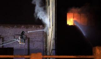 Ein Hausbrand hat mehrere Todesopfer gefordert. (Foto)