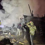 Brand in russischem Pflegeheim fordert 11 Todesopfer (Foto)