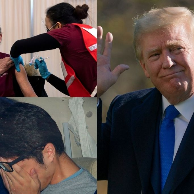 Impf-Fahrplan enthüllt // Donald Trump unerwünscht // Serienmörder zum Tode verurteilt (Foto)