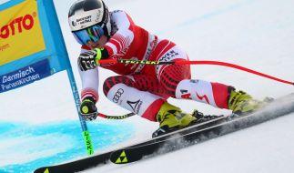 Nicole Schmidhofer stürzte beim Ski alpin in Val d'Isere schwer. (Foto)