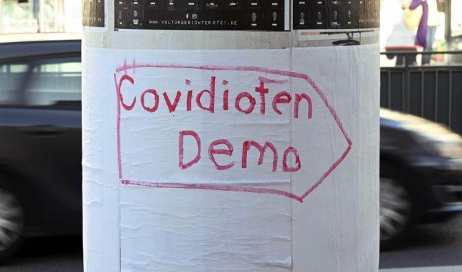 Querdenker-Demo zu Silvester 2020