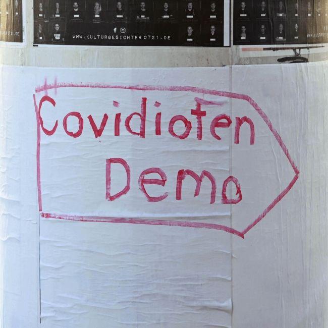 """Geplante """"Querdenken""""-Demo in Berlin bleibt verboten (Foto)"""