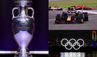Fußball-EM, Formel 1, Olympische Spiele: Das Sport-Jahr 2021 hält eine Reihe von Großereignissen für Sportfans und Athleten bereit. (Foto)