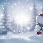 Weiße Weihnachten! HIER rechnen dieMeteorologen mit Schnee (Foto)