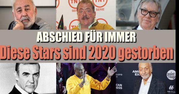 Sean Connery, Karl Dall, Diego Maradona: Herzzerreißender Abschied! Diese Promis sind 2020 gestorben