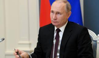 Wladimir Putin , Präsident von Russland. (Foto)