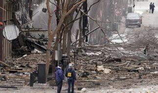 In Nashville kam es am 1. Weihnachtsfeiertag zu einer heftigen Explosion. (Foto)