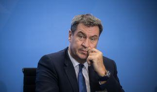 Markus Söder zeigt sich optimistisch über die eingetroffenen Impfdosen. (Foto)
