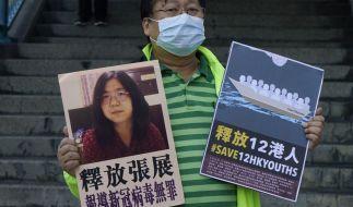 In China muss eine Journalistin nach Berichten aus Wuhan für vier Jahre in den Knast. (Foto)