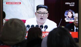 Der nordkoreanische Machthaber Kim Jong Un hat sich zu Beginn des Jahres 2021 in einem Neujahrsbrief an die Bevölkerung seines Landes gewandt. (Foto)