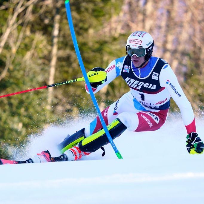 Slalom-Ass Straßer holt Platz 2 in Adelboden (Foto)