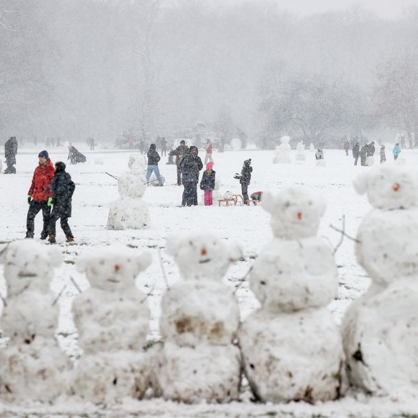 Schneewalze fegt über Deutschland! Wetterdienst warnt vor Dauerfrost (Foto)