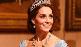 Laut Gerüchten soll Kate Middleton schon bald Königin werden. (Foto)