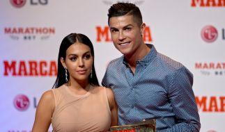 Cristiano Ronaldos Freundin Georgina Rodríguez begeisterte das Netz mit einem heißen Bikini-Schnappschuss. (Foto)