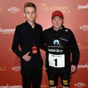 Joey Kelly und sein Sohn Luke Kelly bei der Jose Carreras Gala 2016 in Berlin.