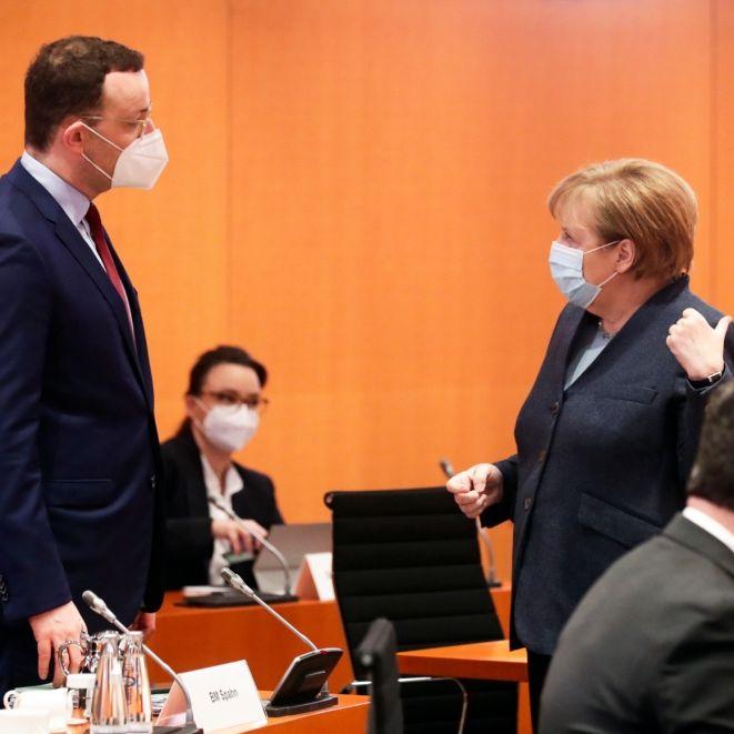 Gesundheitsminister Spahn entmachtet? Kanzlerin nimmt Impfbeschaffung selbst in die Hand (Foto)