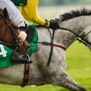 Ein Jockey wurde beim Pferderennen tot getrampelt.