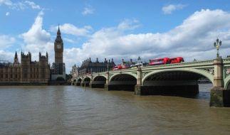 Die Leiche von Millionärssohn Alexander Stern trieb auf der Themse. (Symbolfoto) (Foto)
