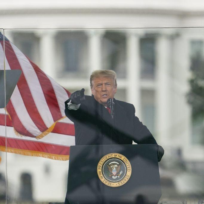 Bislang 5 Tote! Trump räumt Niederlage ein und verurteilt Randalierer (Foto)