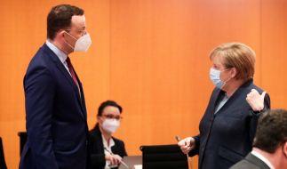 Angela Merkel gab 70 Millionen Impfdosen aus der Hand. (Foto)