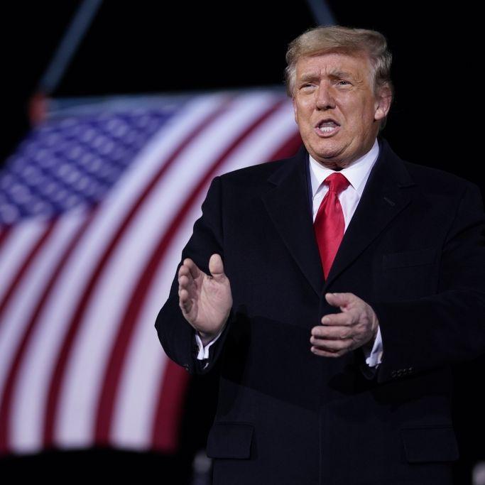 DIESE Trump-Worte entfachten den Sturm aufs Kapitol (Foto)