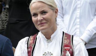 Mette-Marit hat sich bei einem Ski-Ausflug verletzt. (Foto)