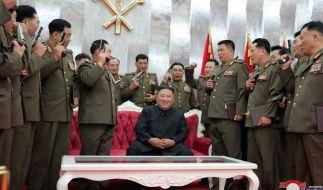 Nordkoreas Machthaber Kim Jong Un will das militärische Potenzial des Landes ausbauen. (Foto)