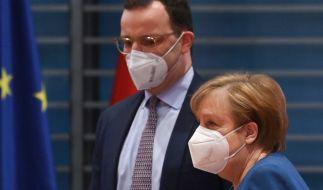 Jens Spahn ist Gesundheitsminister im Kabinett von Angela Merkel. (Foto)