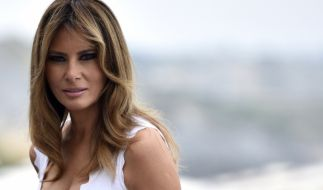 Melania Trump, First Lady der USA, gerät abermals in die Kritik. (Foto)