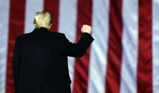 Donald Trump droht die Amtsenthebung. (Foto)