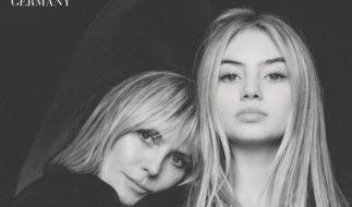 Leni Klum brachte die Fans mit einem Instagram-Foto zusammen mit Mama Heidi Klum ganz aus dem Häuschen (Foto)