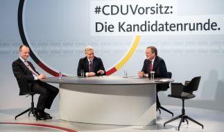 Friedrich Merz, Norbert Röttgen, Armin Laschet: Wer gewinnt das Rennen um den Parteivorsitz der CDU? (Foto)