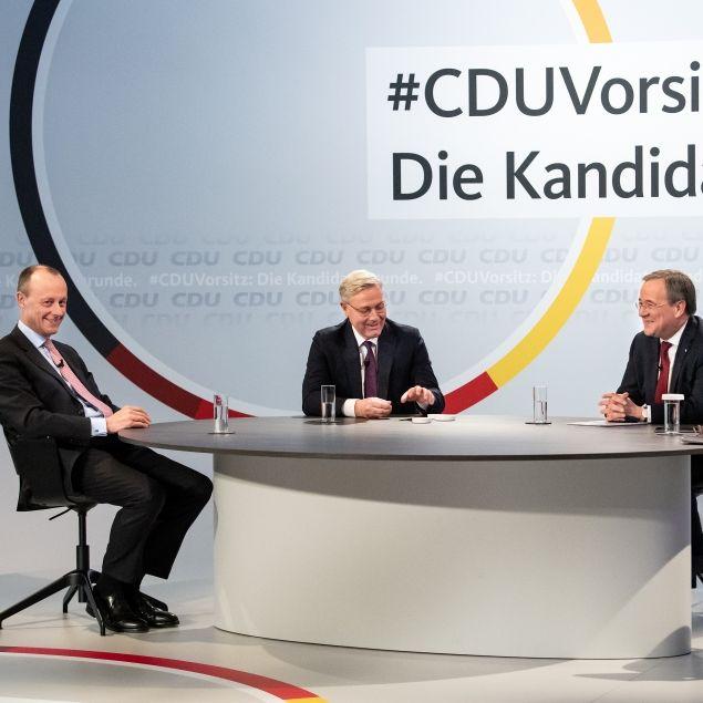 Merz, Laschet, Röttgen? Wer gewinnt das Rennen um den CDU-Vorsitz? (Foto)
