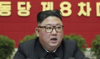 Nordkoreas Führer Kim Jong-un will sein Atomprogramm vorantreiben. (Foto)