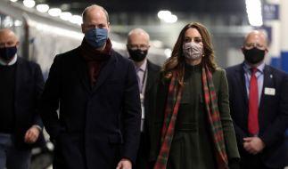 Weil Kate Middleton und Prinz William die Corona-Regeln missachtet haben, werden sie scharf kritisiert. (Foto)