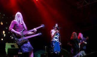 Marco Hietala (li.) verkündete jetzt auf Facebook, dass er Nightwish verlässt. (Foto)