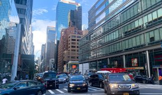 Von einem New Yorker Gebäude stürzte sich die junge Mutter mit ihrer Tochter in den Tod. (Foto)