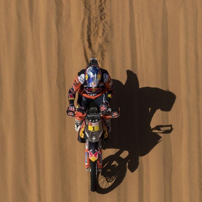 Kopftrauma! Rallye-Dakar-Star (52) nach schwerem Sturz gestorben (Foto)